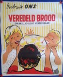 P. Jacquet - Affiche 'Verbruik ons veredeld brood' - _