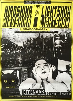 Pop Temple effenaar - Hiroshima The lightshow -1991