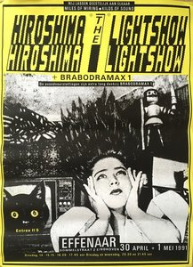 Poptempel Effenaar : Hiroshima The lightshow -1991